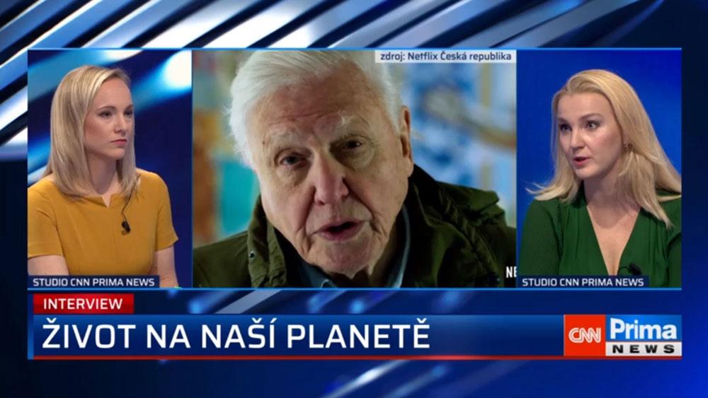 CNN Prima NEWS Interview k první vlně koronavirové pandemie